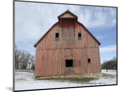 Abandoned Farm near Otoe, Nebraska-Joel Sartore-Mounted Photographic Print