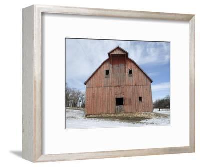 Abandoned Farm near Otoe, Nebraska-Joel Sartore-Framed Photographic Print