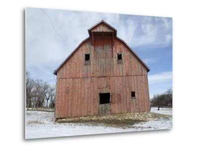 Abandoned Farm near Otoe, Nebraska-Joel Sartore-Metal Print
