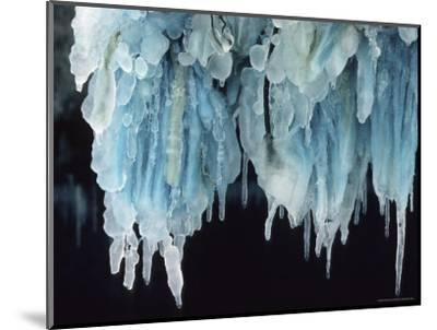 Finland, Gulf of Bothnia, Icicles Hang from a Ice-Breaker-Brimberg & Coulson-Mounted Photographic Print