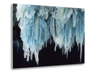 Finland, Gulf of Bothnia, Icicles Hang from a Ice-Breaker-Brimberg & Coulson-Metal Print