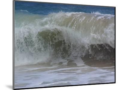 Huge Waves Break near the Shore, Hawaii-Stacy Gold-Mounted Photographic Print