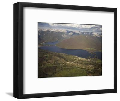 Grand Lake and Lake Granby Are West of Rocky Mountain National Park, Colorado-Michael S^ Lewis-Framed Photographic Print