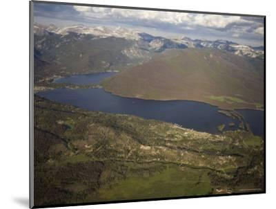 Grand Lake and Lake Granby Are West of Rocky Mountain National Park, Colorado-Michael S^ Lewis-Mounted Photographic Print