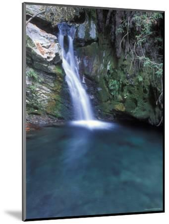 Pico Blanca Falls in Los Padres National Forest, California-Rich Reid-Mounted Photographic Print