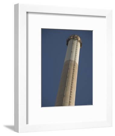 Pg&E Power Plant Stack, California-James Forte-Framed Photographic Print