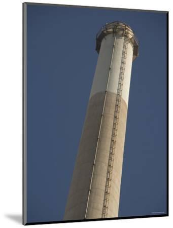 Pg&E Power Plant Stack, California-James Forte-Mounted Photographic Print