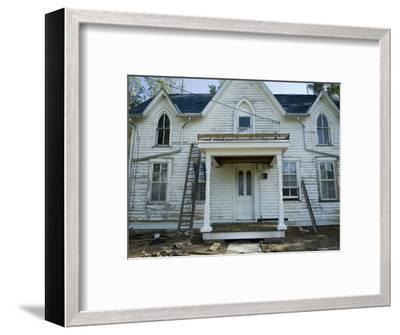 Old Farm near Dunbar, Nebraska-Joel Sartore-Framed Photographic Print