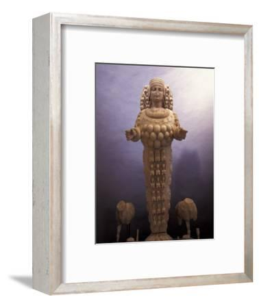 Statue of Artemis in a Museum in Ephesus, Turkey-Richard Nowitz-Framed Photographic Print