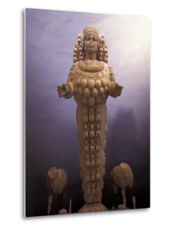 Statue of Artemis in a Museum in Ephesus, Turkey-Richard Nowitz-Metal Print