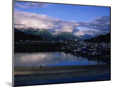 The Harbor of Valdez, Alaska-Stacy Gold-Mounted Photographic Print