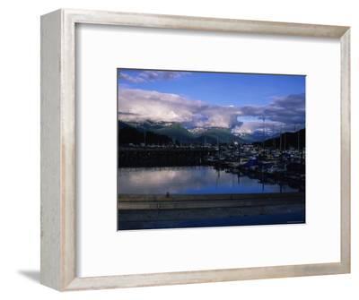 The Harbor of Valdez, Alaska-Stacy Gold-Framed Photographic Print