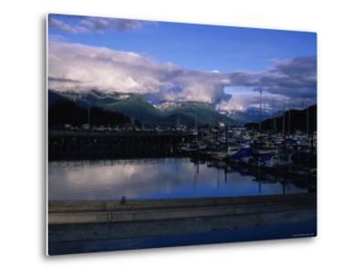 The Harbor of Valdez, Alaska-Stacy Gold-Metal Print