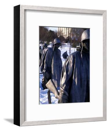 Tribute to the Soldiers Who Fought the Korean War, Washington, D.C.-Stacy Gold-Framed Photographic Print