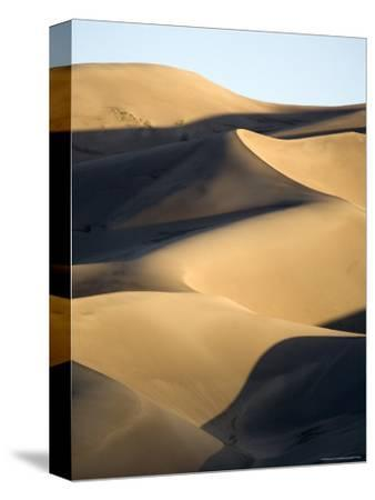 Sand Dunes at Sunset, Colorado-Michael S^ Lewis-Stretched Canvas Print