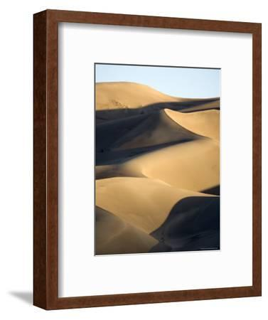 Sand Dunes at Sunset, Colorado-Michael S^ Lewis-Framed Photographic Print