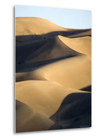 Sand Dunes at Sunset, Colorado-Michael S^ Lewis-Metal Print
