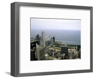 View from the Sears Tower in Chicago, Illinois-Stacy Gold-Framed Photographic Print