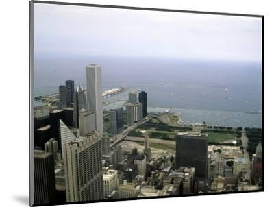 View from the Sears Tower in Chicago, Illinois-Stacy Gold-Mounted Photographic Print