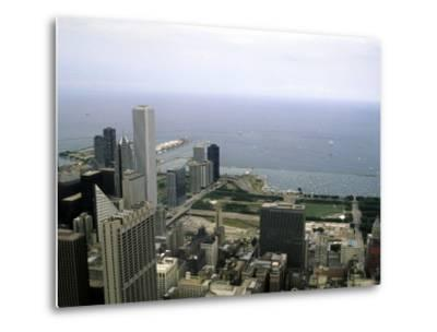 View from the Sears Tower in Chicago, Illinois-Stacy Gold-Metal Print