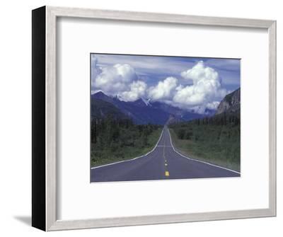 View Towards Lion's from the Road, Glenn Highway, Alaska-Rich Reid-Framed Photographic Print