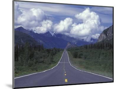 View Towards Lion's from the Road, Glenn Highway, Alaska-Rich Reid-Mounted Photographic Print