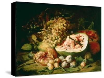 Still Life of Fruit on a Ledge-Frans Snyders-Stretched Canvas Print
