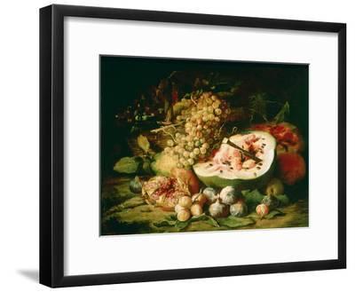Still Life of Fruit on a Ledge-Frans Snyders-Framed Giclee Print