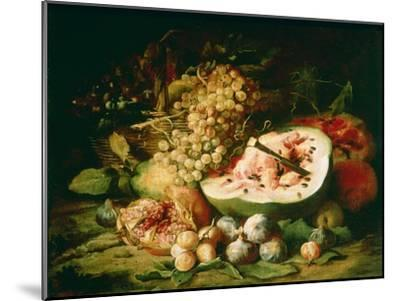Still Life of Fruit on a Ledge-Frans Snyders-Mounted Giclee Print