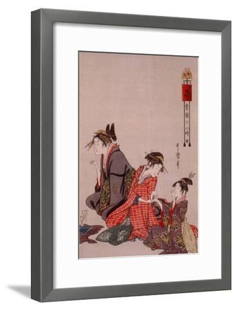 Beauty-Kitagawa Utamaro-Framed Giclee Print