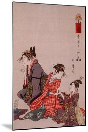 Beauty-Kitagawa Utamaro-Mounted Giclee Print