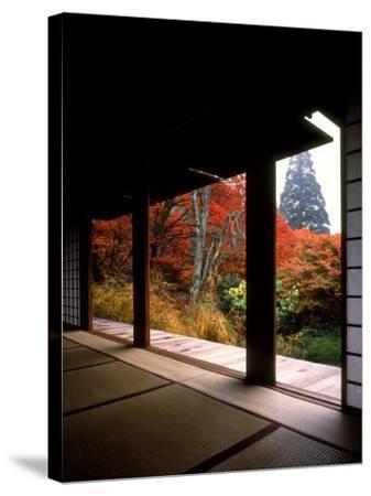 Kozanji Temple--Stretched Canvas Print