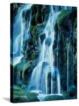 Waterfalls--Stretched Canvas Print