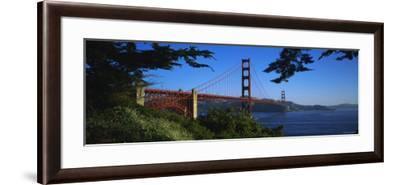 Golden Gate Bridge, San Francisco, California, USA--Framed Photographic Print