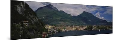 Town at the Waterfront, Riva Del Garda, Italy--Mounted Photographic Print