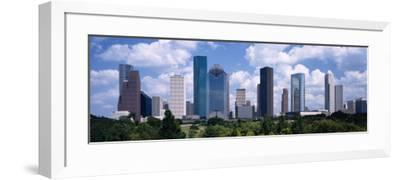 Skyscrapers in Houston, Texas, USA--Framed Photographic Print