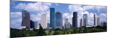 Skyscrapers in Houston, Texas, USA--Mounted Photographic Print
