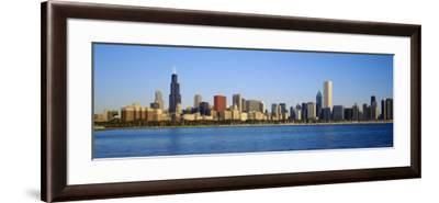 Buildings at the Waterfront, Chicago, Illinois, USA--Framed Photographic Print