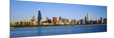 Buildings at the Waterfront, Chicago, Illinois, USA--Mounted Photographic Print