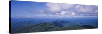 Clouds over a Landscape, Whiteface Mountain, Adirondack Mountains, New York, USA--Stretched Canvas Print