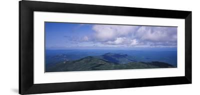 Clouds over a Landscape, Whiteface Mountain, Adirondack Mountains, New York, USA--Framed Photographic Print