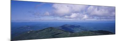 Clouds over a Landscape, Whiteface Mountain, Adirondack Mountains, New York, USA--Mounted Photographic Print