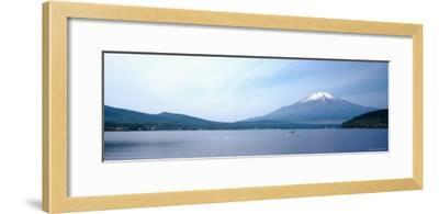 Mt Fuji, Yamanaka Lake, Yamanashi Prefecture, Chubu Region, Japan--Framed Photographic Print