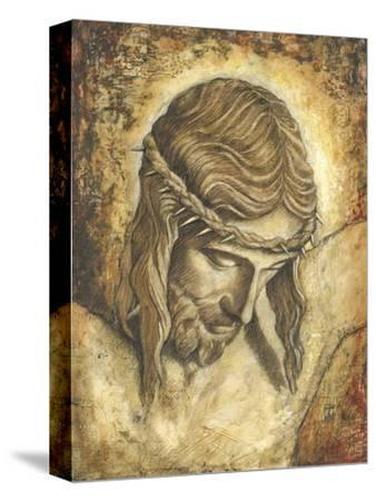 Jesus-Tina Chaden-Stretched Canvas Print