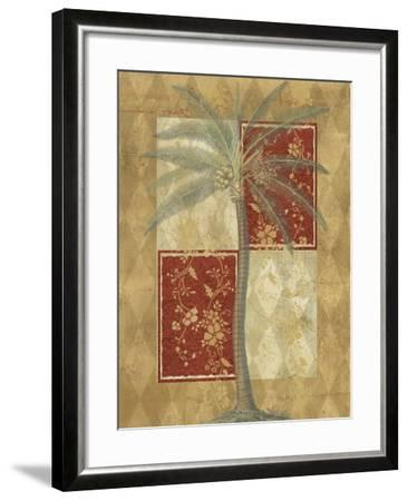 Harlequin Coconut Palm--Framed Art Print