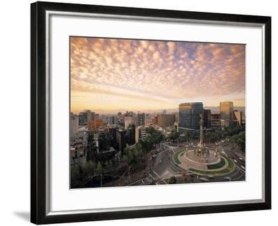 Momento a La Independencia, Mexico City, Mexico-Walter Bibikow-Framed Photographic Print