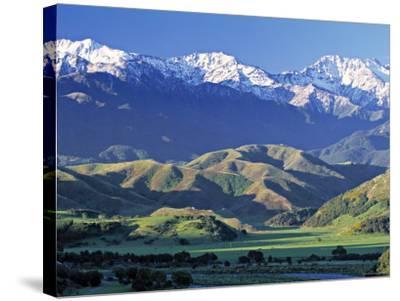 Kaikoura Range, South Island, New Zealand-Doug Pearson-Stretched Canvas Print