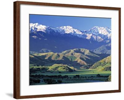 Kaikoura Range, South Island, New Zealand-Doug Pearson-Framed Photographic Print