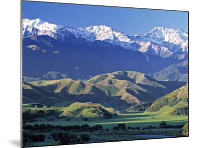 Kaikoura Range, South Island, New Zealand-Doug Pearson-Mounted Photographic Print