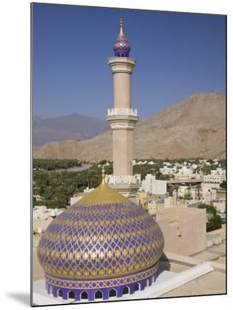 Nizwa Mosque, Western Hajar Mountains, Oman-Walter Bibikow-Mounted Photographic Print